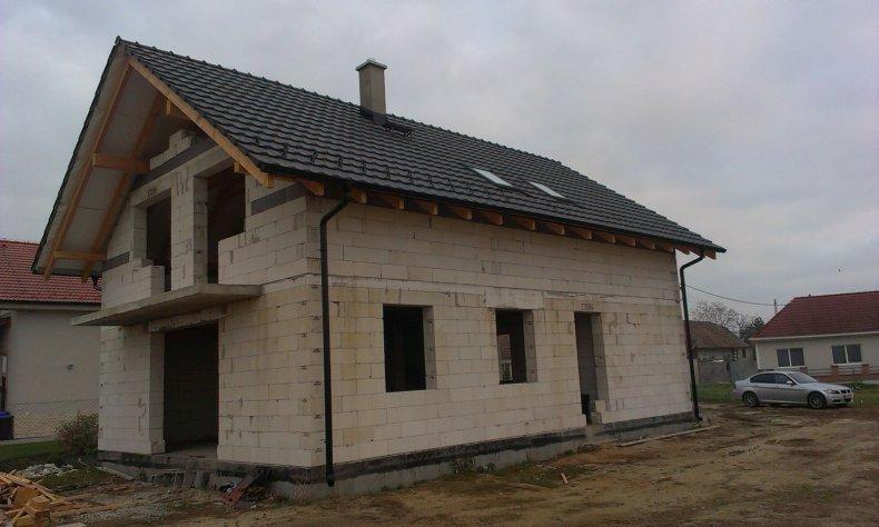 Realizácia šikmej strechy