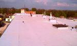 Rekonštrukcia plochej strechy Chtelnica 2