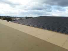 Plochá strecha rekonštrukcia strechy Priemyselný objekt Holíč