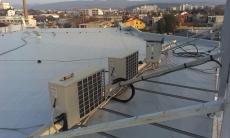 Plochá strecha rekonštrukcia strechy Priemyselný objekt Piešťany