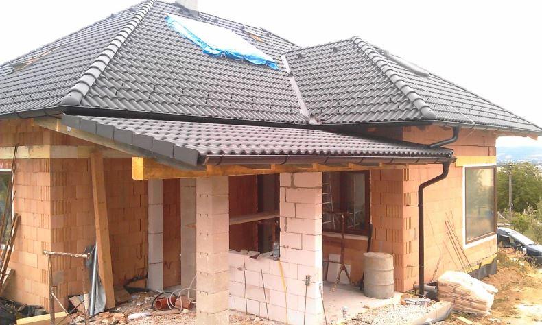 Rekonštrukcia šikmá strecha RD Vrbové 1