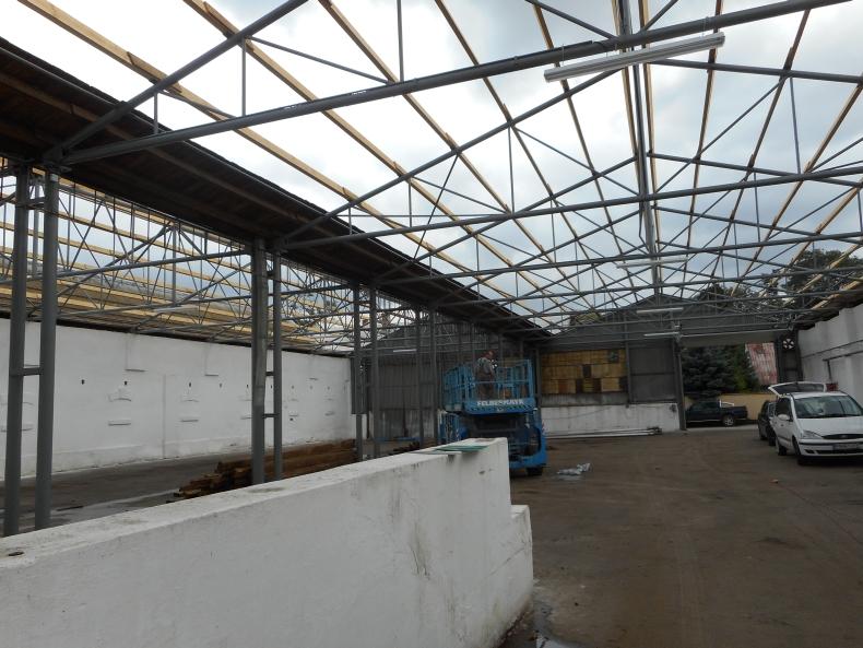 Novostavba šikmej strechy Farma Potôčky 1