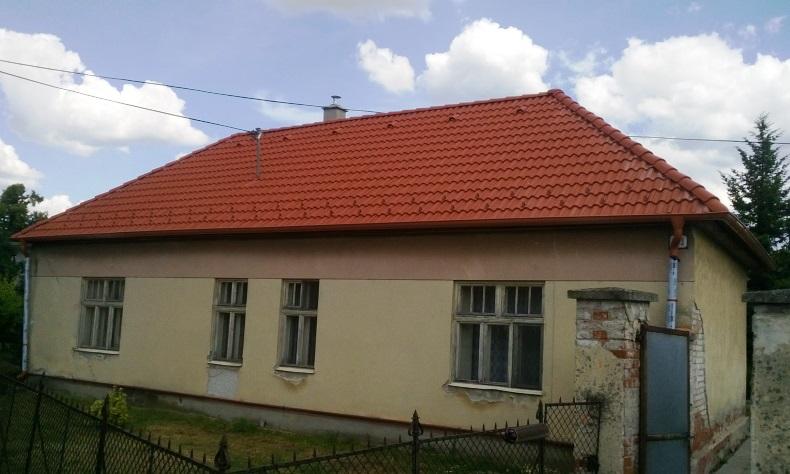 Rekonštrukcia šikmá strecha RD Ludanice 1